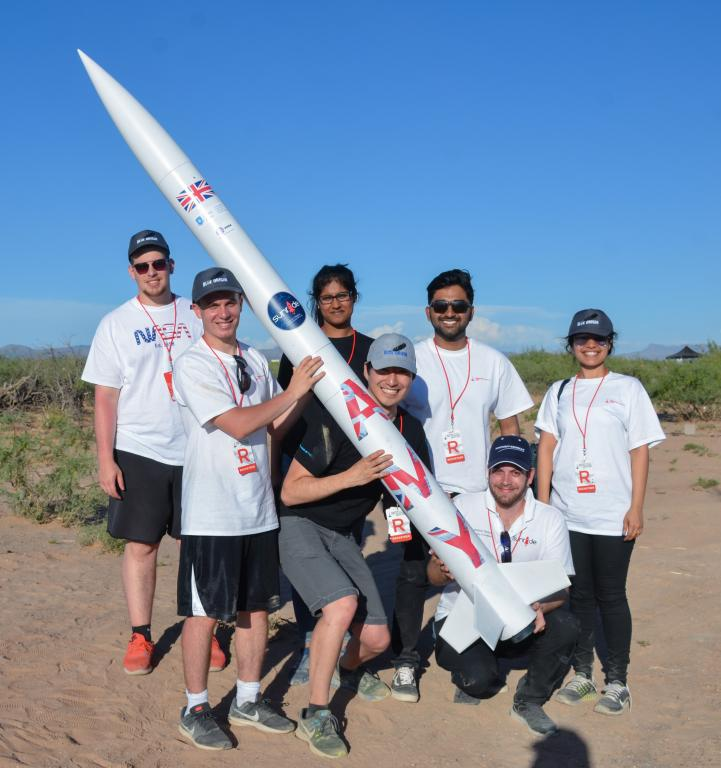 Student rocket scientists