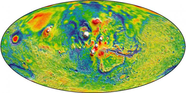 Mars gravity mapped