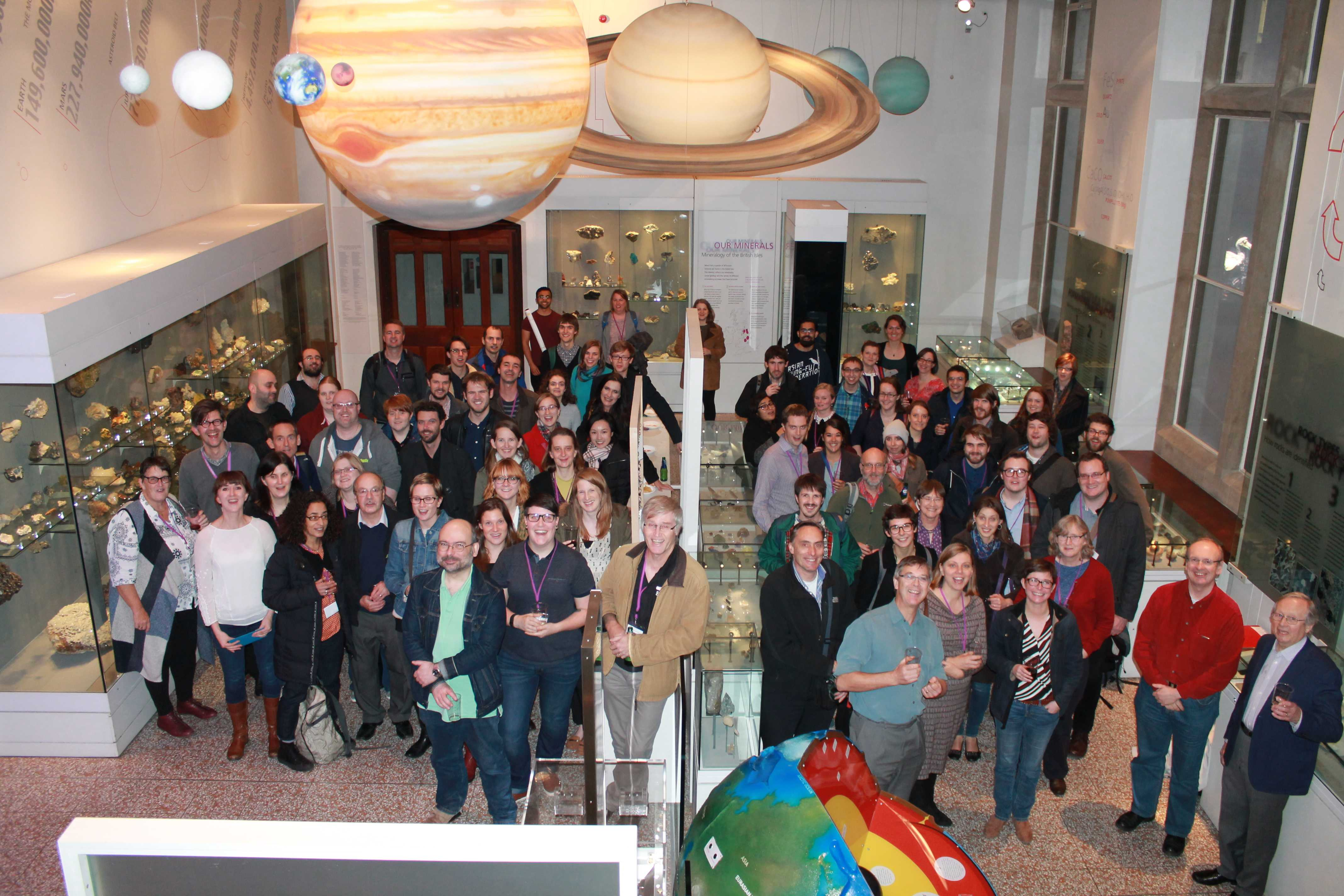Extraterrestrial Materials Research Meeting 2016 – a great success!